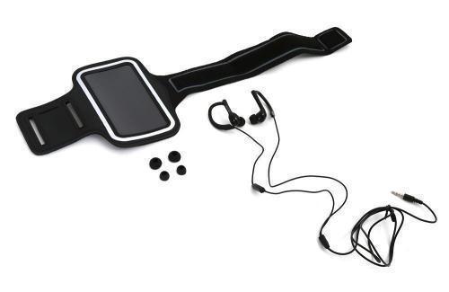 Brazalete deportivo y auriculares PLATINET PM1070B