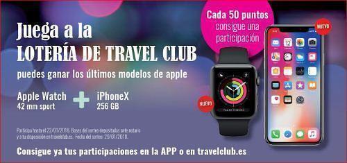 Participación Lotería Travel Club 2017