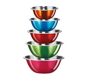 Set 5 bowl KING multicolor