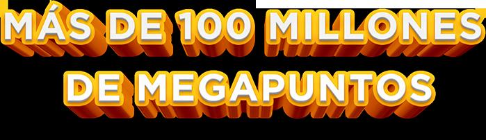 100 Millones De MegaPuntos