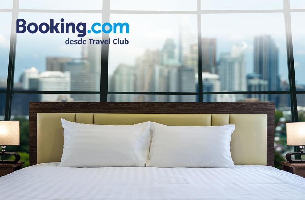 Suma puntos con Booking a través de Travel Club